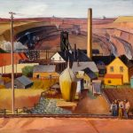 Dewey Albinson, NORTHERN MINNESOTA MINE, 1964.