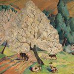 78-Goats-under-Flowering-Tree-HR-MMAA