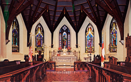 The Cathedral of Our Merciful Saviour in Faribault in 1976.