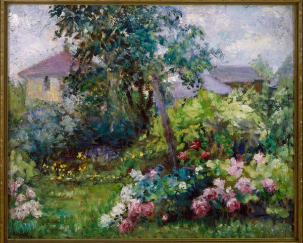 THE GARDEN, PAINTED BY ALICE HUGY