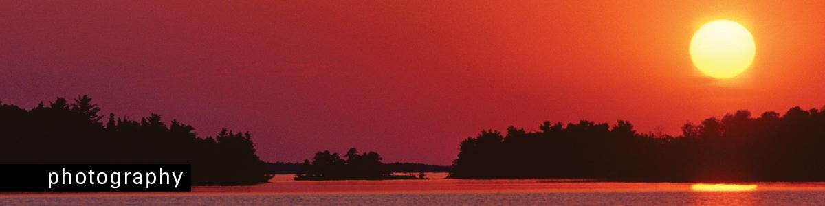 Afton Press PHOTOGRAPHY Orange sunset