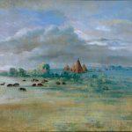 Sioux Village, Lake Calhoun, near Fort Snelling, 1835-1836.