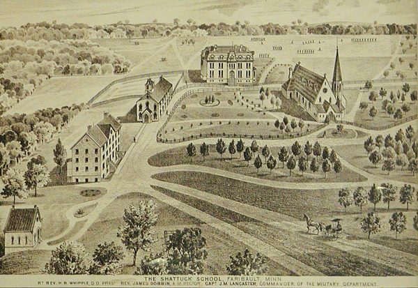 The Shattuck School, Faribault, Minnesota