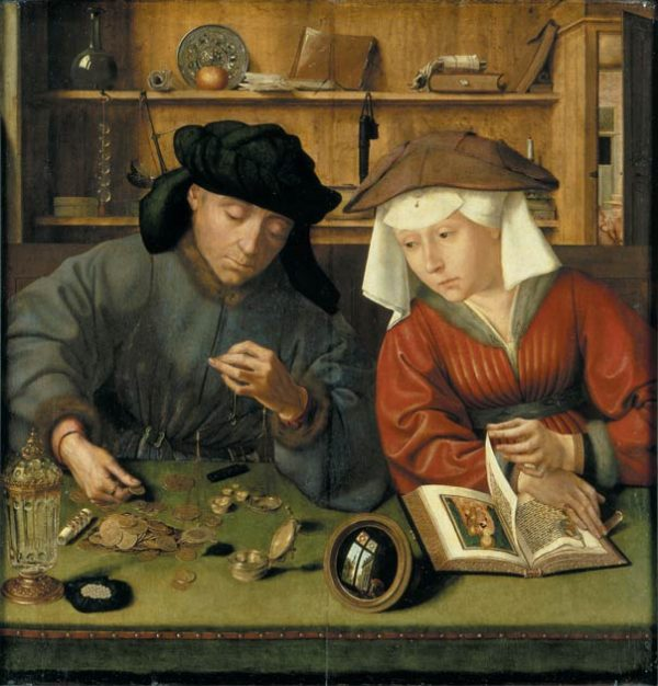 The Moneylender and His Wife