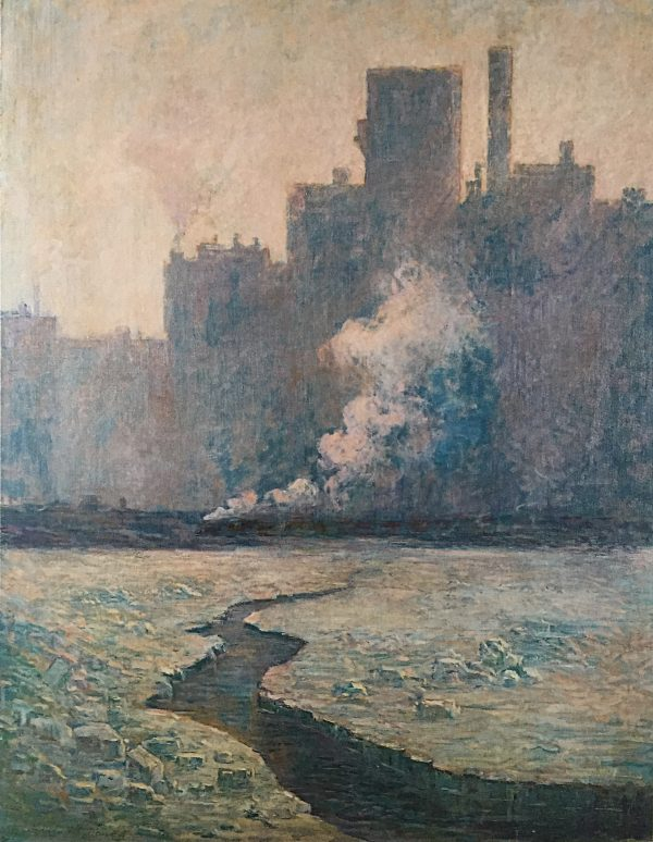 The Channel to the Mills, 1913, by Edwin M. Dawes