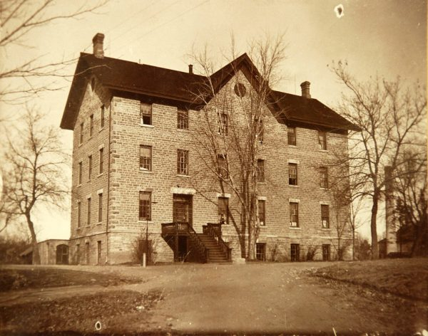 Original Shattuck Hall in Faribault.